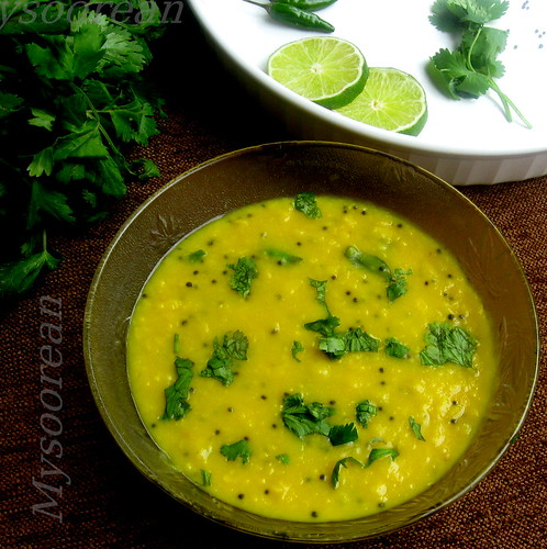 Tadka Dal - Thick