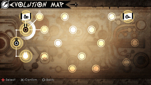 Patapon 2 Evolution Map Screenshot 3