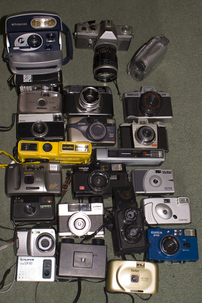 My current camera collection