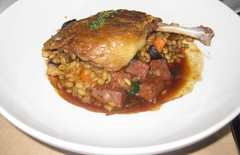 RN74 in San Francisco - Duck Confit Cassolette