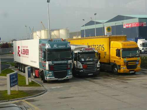 Dublin Port Truckpark