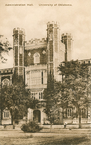 Vintage Postcard: University of Oklahoma