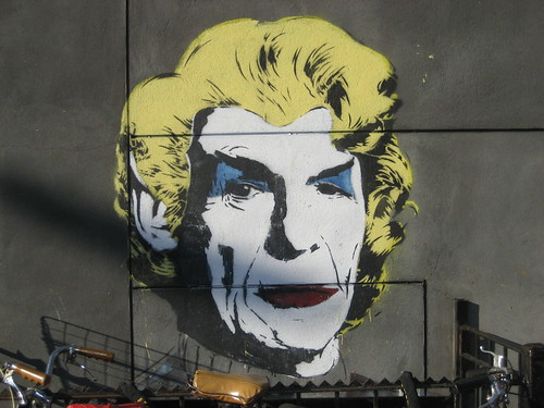 Leonard Nimoy Mural by Mr. Brainwash