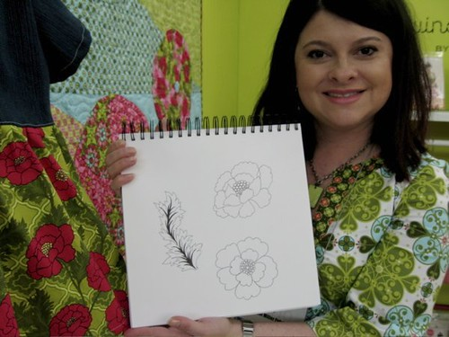 From sketch to fabric: Patty Young