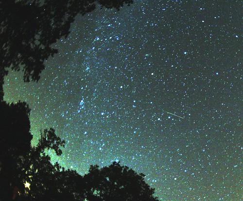 Lluvia de meteoros Perseidas
