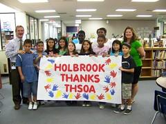 Holbrook Elementary (THSOA-HC) Tags: may donation 2009 holbrook