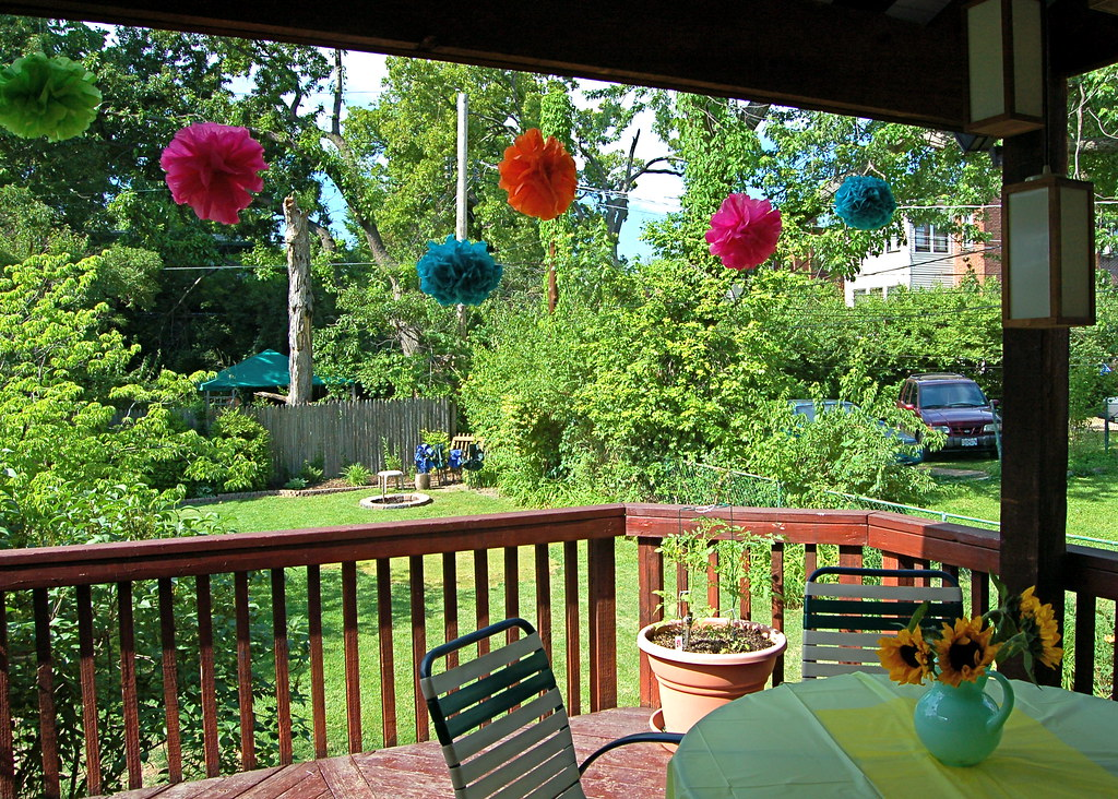 Back Yard Baby Shower