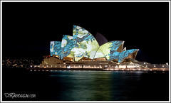 Sydney Opera House - Explored (-DzR-) Tags: light house festival night lights photo interestingness opera flickr sydney vivid explore operahouse refelections explored australianoperahouse sydneylightshow smartlightsydney