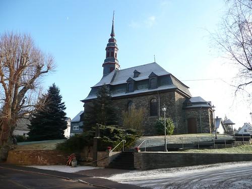 eine schöne Kirche