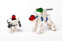 Space Police 3 - the bots (bluemoose) Tags: toy lego robots bots droids ploice spacepolice spacepolice3
