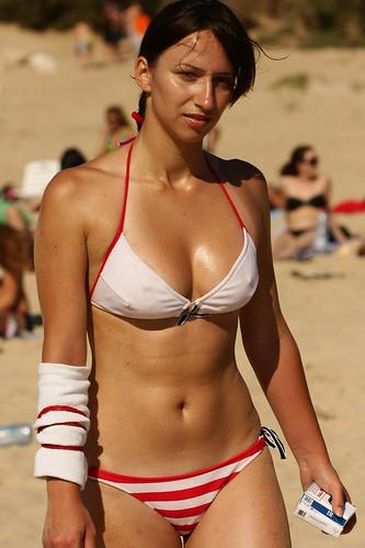 Sorry, not Israeli beach girls pity