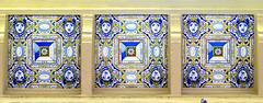 Barcelona - Valncia 408 c (Arnim Schulz) Tags: barcelona espaa building art faence architecture tile liberty spain arquitectura pattern arte mosaic kunst edificio kacheln mosaico catalonia artnouveau tiles gaud architektur catalunya deco espagne btiment gebude muster modernismo catalua spanien modernisme glazed azulejos jugendstil mosaque baldosa mosaik espanya katalonien stilefloreale eixample belleepoque baukunst carreau