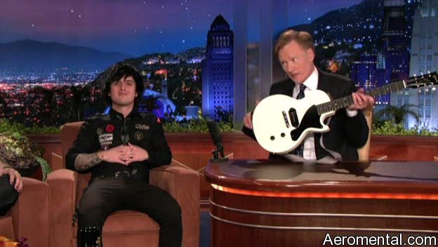 Conan Green Day The Tonight Show