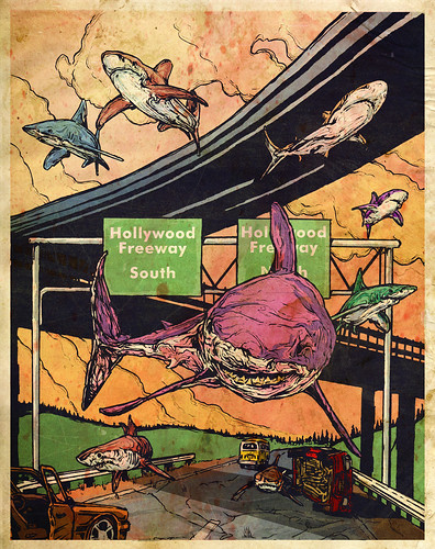 当鲨鱼满天飞…… - 碌碡画报 - 碌碡画报