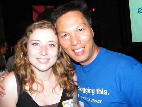 John Chow and me