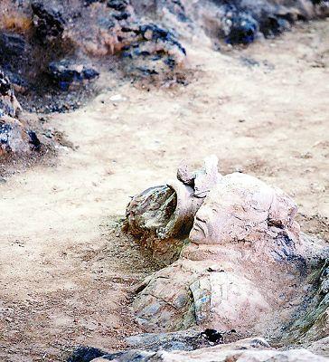 兵马俑一号坑在发现24年之后第三次挖掘