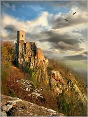 Top (Jean-Michel Priaux) Tags: sky france castle art history nature rock architecture photoshop painting landscape construction dream medieval peinture dreaming pointofview alsace histoire g3 chateau paysage chteau montain vosges castel anotherworld patrimoine moyenge patrimony priaux abigfave girsberg platinumphoto aplusphoto grouptripod ribauvill thebestofcengizsqueezeme2groups