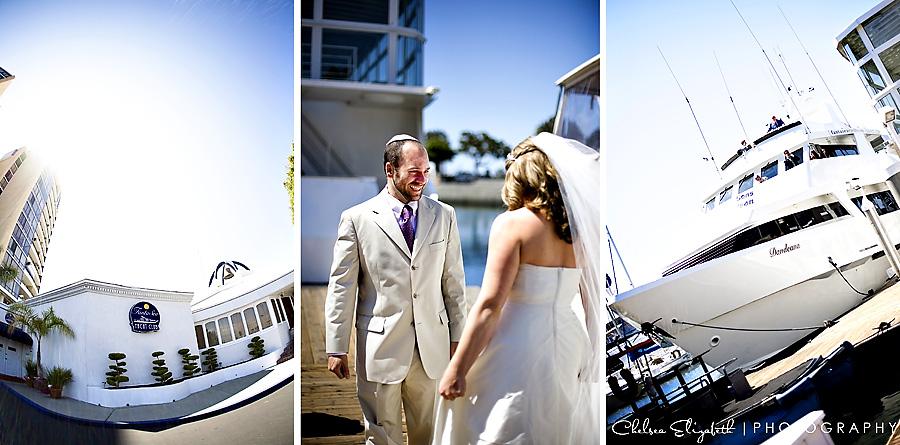Fantasea Yacht Club Marina Del Rey Dandeana boat wedding