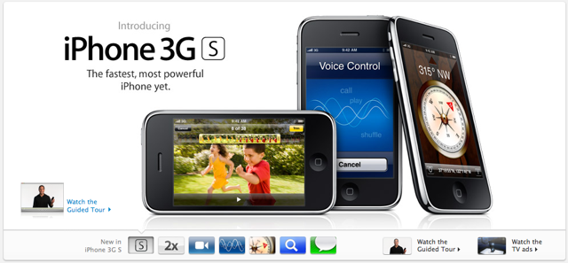 iPhone 3G S by Apple