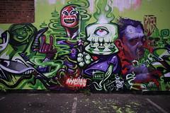 nychos wany aryz (Probs - Endoftheline) Tags: street white black colour london art graffiti paint aerosol endoftheline endof probs wany