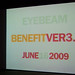 Eyebeam Benefit Ver3.0, 06/16/09
