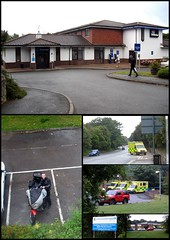 Travel Lodge & Ambo Station! (Mike-Lee) Tags: mike jill motorbike hastings travellodge southtrip triumphtiger june09