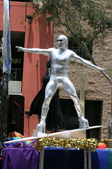 West Hollwyood Silver Surfer Gay Pride Parade 2009 (jasoninhollywood) Tags: gay comics costume surfer alien pride parade hero superhero heroes silversurfer gaypride marvel westhollywood marvelcomics westhollywoodpride