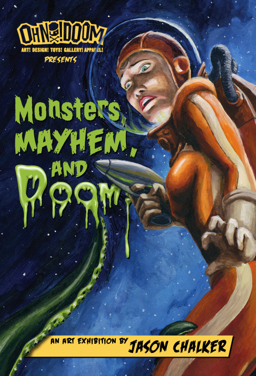 Monsters, Mayhem & Doom!