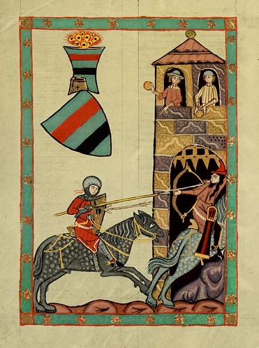 011- Kristan de Luppin-Codex Manesse