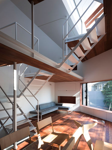 03 Modern Urban Home Design - Interior Design Staircase