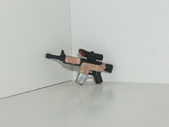 m4a1 desert camo mod (kenneth nielsen a.k.a Qenhyt) Tags: mod paint desert lego games camo workshop ba m4a1 brickarms httpfarm4staticflickrcom3211294697120663e7327bd7jpg