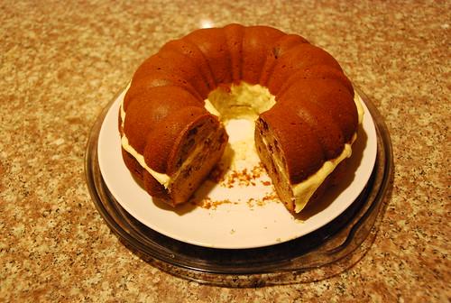 Eaten anniversary cake