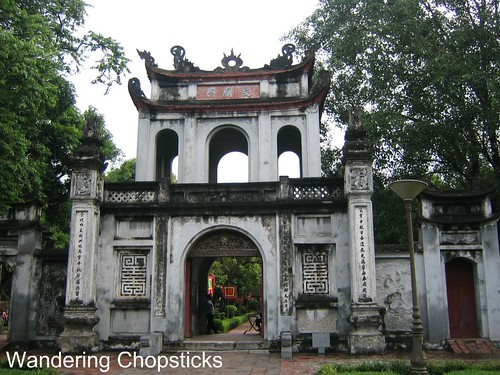 Van Mieu (Temple of Literature) - Hanoi - Vietnam 1
