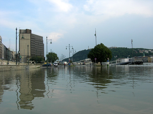 Donau flood at Budapest, 2009 June 29 #2
