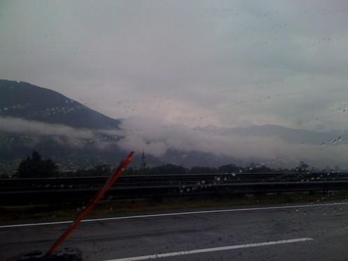 Låga moln i Österrike