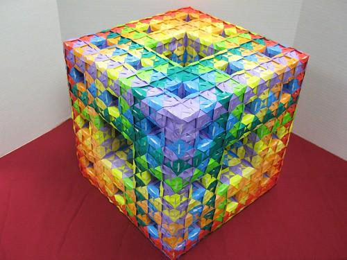 Complex Modular Origami Diagrams