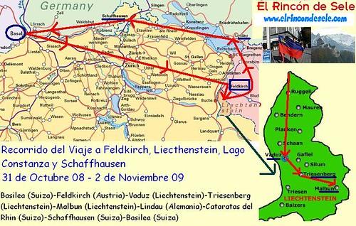 Mapar recorrido Liechtenstein por ti.