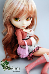 Mikuru - Pullip My Melody (-Poison Girl-) Tags: new pink white grey eyes doll dolls pale sanrio melody wig groove pullip mm pullips eyelid poisongirl eyelids closedeyes mymelody mikuru obitsu junplanning rewigged sbhm pullipmymelody pullipmm