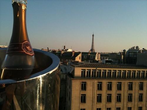 Hôtel Napoleon, vue sur la tour Eiffel