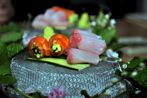 Sashimi _salmon and Hamachi