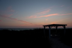 A Beach Retreat Sunset (12Jeepgirl~Never look back...) Tags: ocean sunset beach water outdoors nikon gulf florida nokomis caseykey gulfcoast d700