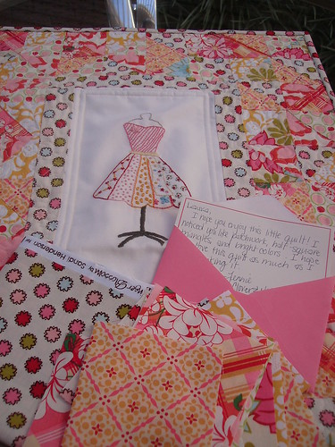 Doll Quilt Swap by Coisas da Laura