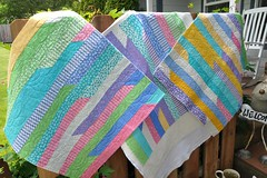 Jackie R. Jelly Roll Race Quilt 2 of 3