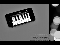41 * (R45h4,) Tags: white black canon piano mm 1855 4g 2011  550d      iphone4 r45h4