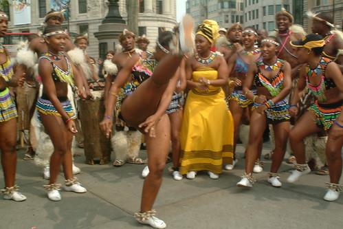Sexy zulu girls