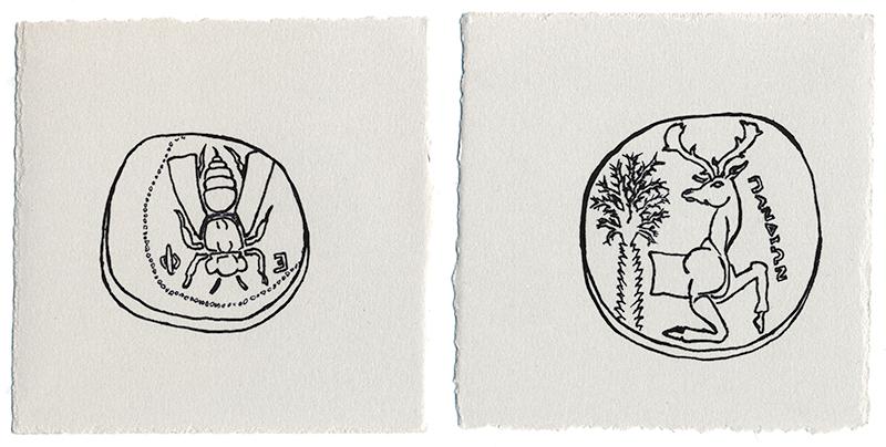 Bee/Stag AR Tetradrachm EF Ephesos Ionia 390 BC