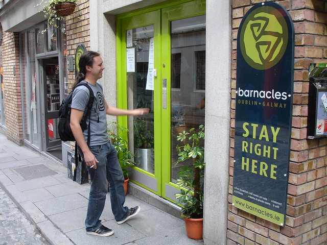 Barnacles hostel in Ireland