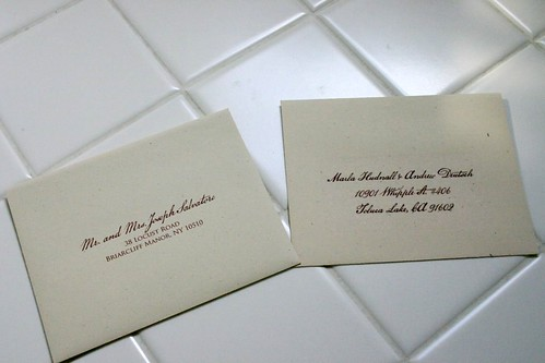 Colored Mailing Labels Used Clear Mailing Labels