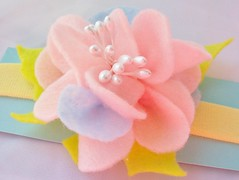 felt pink flower headband side (Beyond.the.Box) Tags: pink blue orange rose yellow buttons blossoms felt peony piston handcrafted handsewn brightcolors etsy headband glassbeads hotpink feltflowers hairaccessory thinkoutsidethebox flowerheadband handembroidery childrensaccessories thinkoutsidethebox2008 feltbouquet neoncoloredfelt girlshairjewelry layeredfeltflower