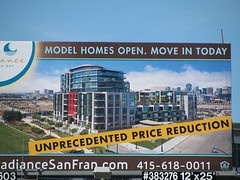 price reduction billboard